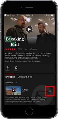 Cách tải phim trên Netflix, Download phim Netflix xem offline