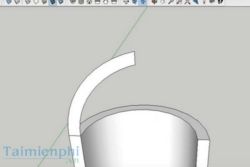 tao mai vom trong sketchup