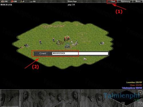 Cách lệnh trong Đế Chế, mã lệnh chơi Age of Empires 3