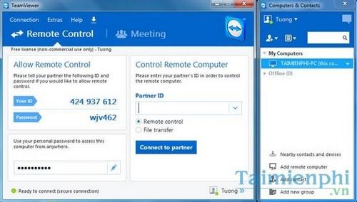 Cách quét virus máy tính từ xa bằng TeamViewer