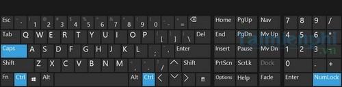 Cách mở bàn phím ảo trên Windows 10 0
