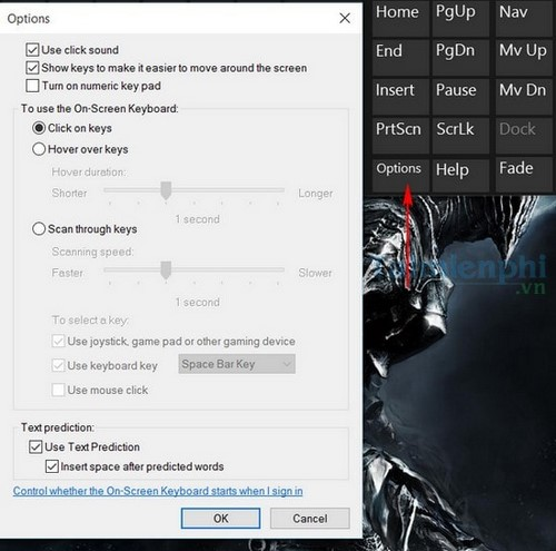 Cách mở bàn phím ảo trên Windows 10 3