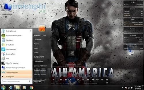 [TaiMienPhi.Vn] Hướng dẫn cài theme cho Windows 7