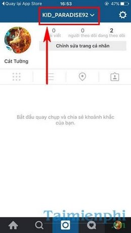 dang nhap tai khoan instagram