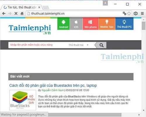 kham pha giao dien material tren google chrome