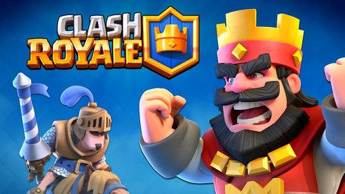 choi clash royale tren pc