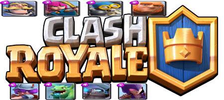 danh sach quan trong clash royale