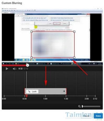 Làm mờ đối tượng trong video trên Youtube