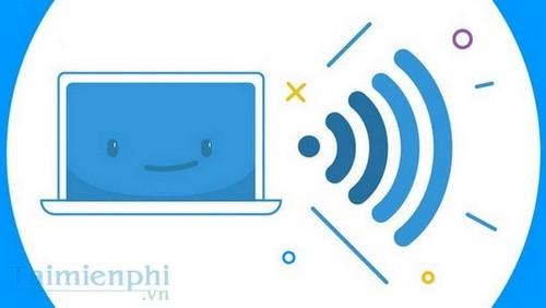 phat wifi tren windows 10