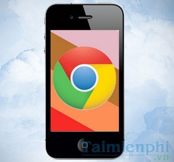 xoa lich su chrome tren iphone