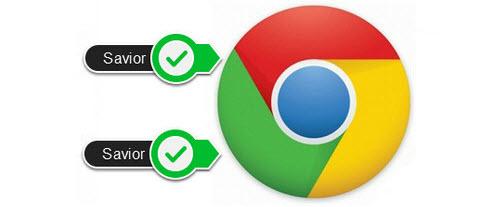 Cài Savior cho Chrome