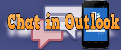 chat trong outlook