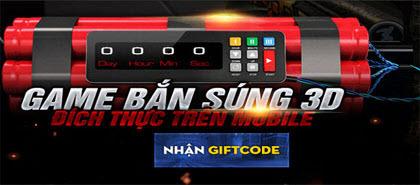 Code Tập kích, nhận giftcode game Tập kích 0