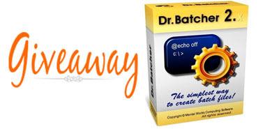 giveaway dr batcher