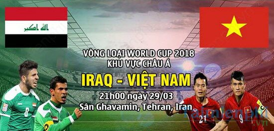 iraq vs viet nam 29/03/16