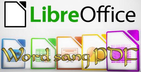 luu file word sang pdf trong libreoffice