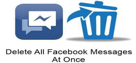 xoa tin nhan facebook