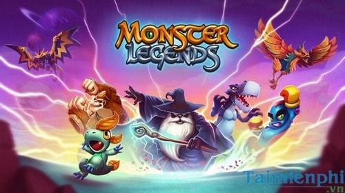 choi monster legends tren pc bang bluestacks