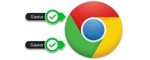 Chrome có cài được Savior, thanh tải video như Cốc Cốc không