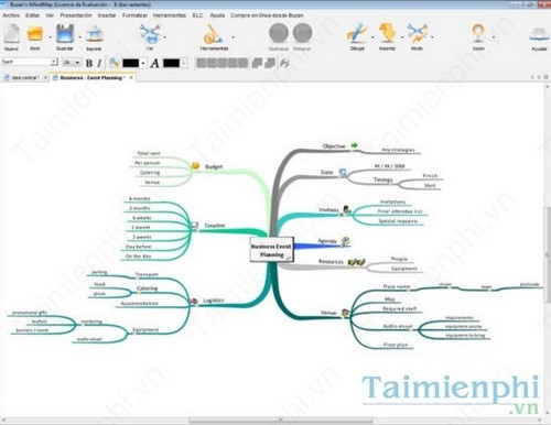 Top phần mềm vẽ sơ đồ tư duy trên máy tính, Laptop, iMindMap, Edraw Mind Map, XMind 2