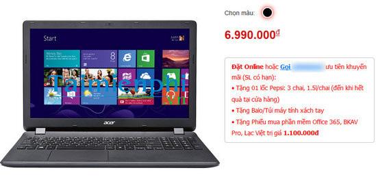 laptop gia 4 den 7 trieu