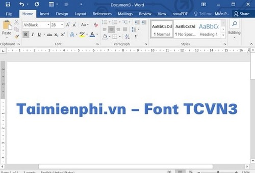 how to install tcvn3 font on laptop computer