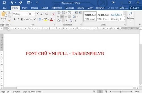 [TaiMienPhi.Vn] Cài font vni, cách cài font VNI trên máy tính, laptop