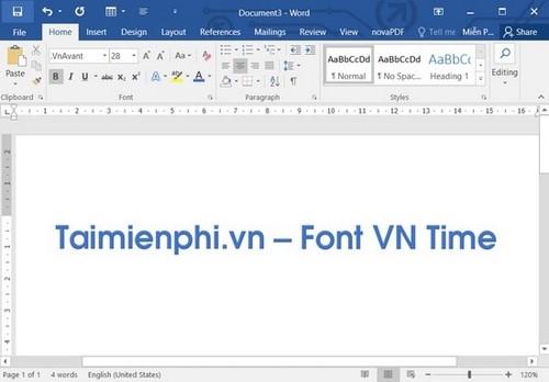 Cách cài font VnTime trên máy tính, laptop, mới nhất 4