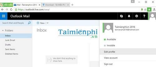 Cách đăng nhập Hotmail, truy cập tài khoản Hotmail