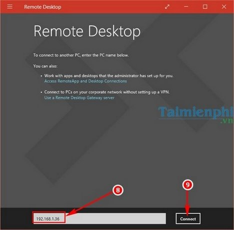 Cách remote Desktop trên Windows 10 6