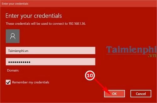 Cách remote Desktop trên Windows 10 7
