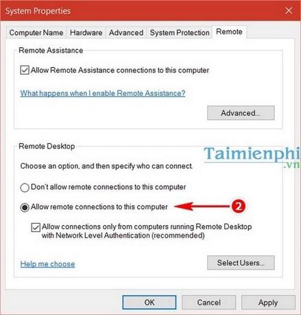 Cách remote Desktop trên Windows 10 2