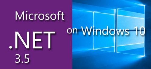 cai dat net framework 35 offline tren windows 10