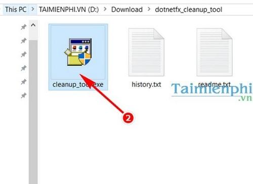 delete the net framework