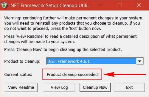 go install the .net framework