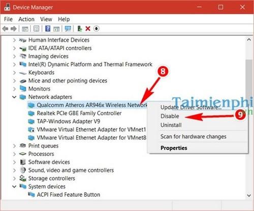 Lỗi wifi laptop dell và cách khắc phục