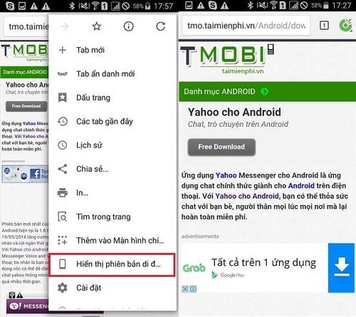 Sử dụng Cốc Cốc trên Android, lướt web CocCoc trên điện thoại Android