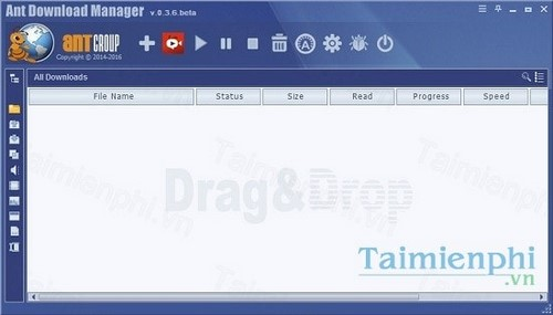 Cài Ant Download Manager, phần mềm hỗ trợ download
