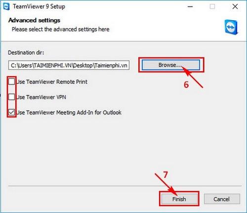 Cài Teamviewer 9, sử dụng teamviewer 9 trên máy tính