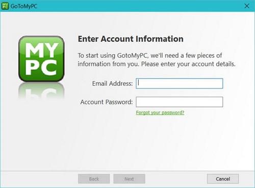 Cài GoToMyPC, phần mềm kết nối máy tính từ xa