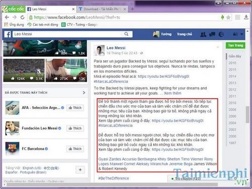 Xem bản dịch trên facebook, cách dịch ngôn ngữ sang tiếng Việt trên Facebook