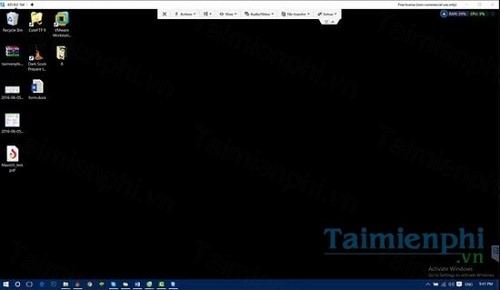 Kết nối máy tính bằng Teamviewer 9 trên PC