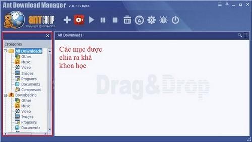 So găng giữa Ant Download Manager và Internet Download Manager