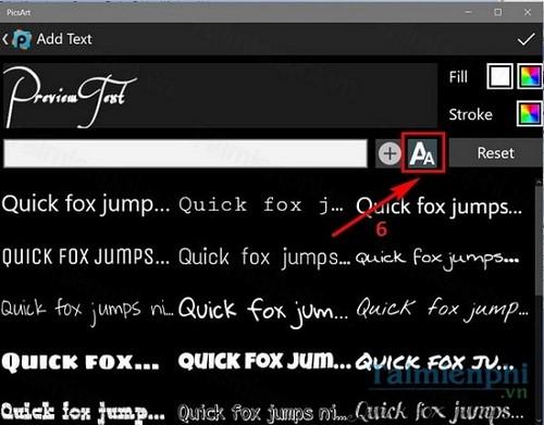 Thêm font chữ vào PicsArt, chèn font chữ cho PicsArt trên máy tính