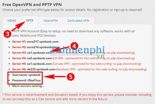 How to design vpnbook with pptp vpn