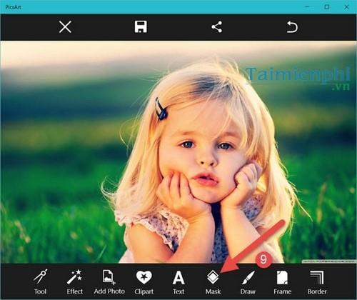 Chèn hiệu ứng vào ảnh trong PicsArt