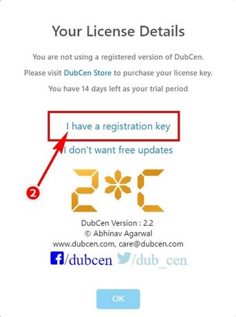 The dubcen giveaway is free of charge and free shipping