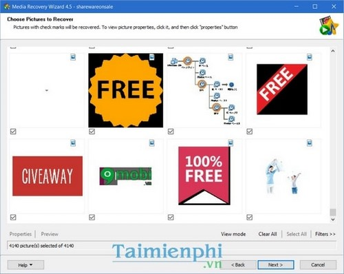 giveaway media recovery wizard mien Phi