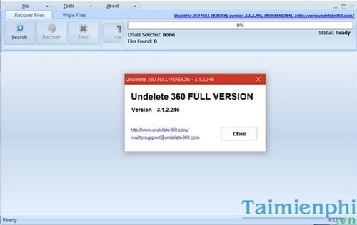 (Giveaway) Bản quyền Undelete 360 Professional, phục hồi dữ liệu từ 7/11 2