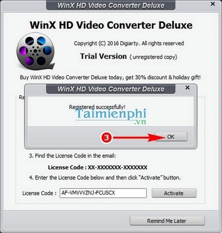Giveaway) Đăng ký bản quyền WinX HD Video Converter Deluxe